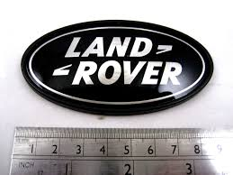 land rover logo vector land rover freelander 1 black silver oval rear badge upgrade td4