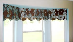 decor u0026 tips bay window with window valance ideas and curtain