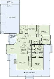 House Plans Com by Country Style House Plan 4 Beds 3 Baths 2173 Sq Ft Plan 17 2503