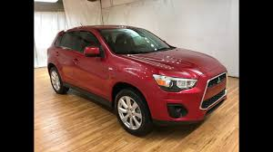 mitsubishi outlander sport 2014 red 2015 mitsubishi outlander sport es 5 speed carvision youtube