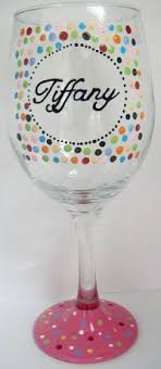 diy monogram wine glasses 17 best images about wine glass design on glasses