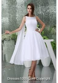 princess scoop neck short watteau train beach wedding dress us