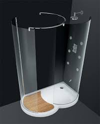 walk in shower doors glass walk in shower by cesana eclisse curved shower enclosures with