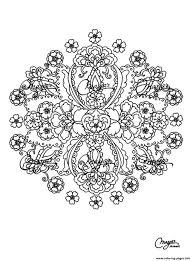 free mandala difficult to print 15 coloring pages printable