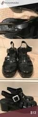 black jelly heels black jelly heels in size 7 5 nature breeze