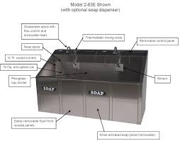 Scrub Sink surgical scrub sinks continental metal products healthcare