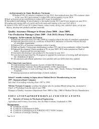 Medical Device Resume Top Dissertation Editing Websites Uk Sample Resume For Lvn