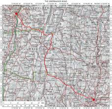 Road Map Of Upstate New York by Historic Routes In The Northeastern U S