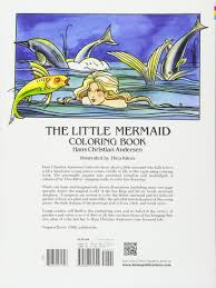the little mermaid coloring book colouring book dover classic