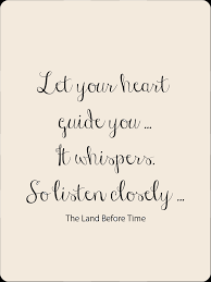 heart guide whispers listen closely