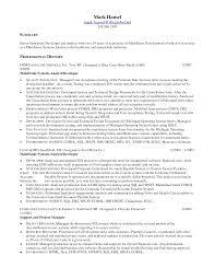 Sample Resume For System Analyst by Mainframe Developer Resume Examples Programmer Bill Sample Resume