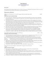 System Analyst Sample Resume System Programmer Sample Resume