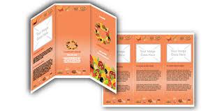 download free microsoft word food brochure templates