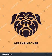 affenpinscher photos affenpinscher dog logo vector stock vector 282847283 shutterstock