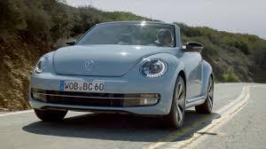 blue volkswagen beetle 1970 2013 vw beetle convertible u002760s edition hd youtube