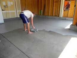 garage painting new concrete garage floor carport flooring ideas