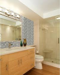 mirror tiles for bathroom artistic bathroom glass tile kitchen backsplash sheets mirror wall