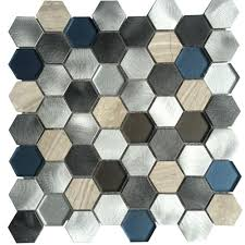 gray colors multi color glass tile backsplash u2013 asterbudget