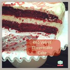 best cake recipe red velvet cake with cheesecake filling