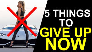 5 things to give up if you want to be successful animated