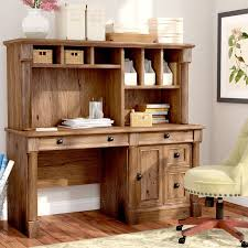 The Styling Hutch Darby Home Co Sagers Computer Desk With Hutch U0026 Reviews Wayfair