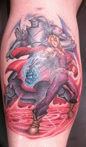 fullmetal alchemist brotherhood tattoo by 2barquack on deviantart