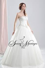 robe de mariage simple robe de mariee princesse et bustier drapé simple et élégante
