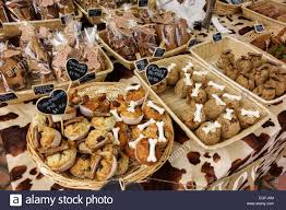 various novelty biscuits and cookies for sale at outdoor