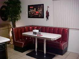diner style booth table in the near future would like to my kitchen in 1950s diner