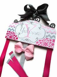 bow holders baby personalized boutique hair bow holders for infants