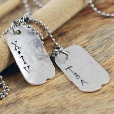 mens personalized necklace personalized mens necklace mens personalized tag necklace