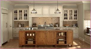 witching white color wooden antique kitchen cabinets featuring