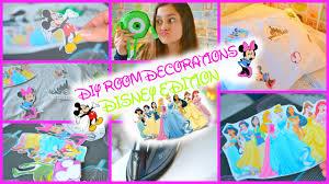 diy room decorations disney edition youtube