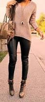 Real Leather Leggings Best 25 Leather Pants Ideas On Pinterest White Blouse