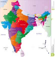 Map Of India Cities Map Of India Royalty Free Stock Photos Image 6488778