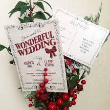 christmas wedding invitations 97 best christmas wedding invitations images on