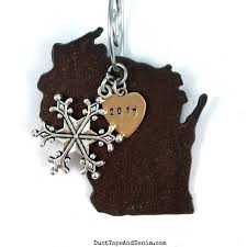 wisconsin christmas ornament wisconsin ornament christmas