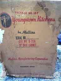 youngstown kitchen cabinets found in boxes never opened 1948 youngstown kitchens cabinets go