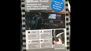 lexus ls 460 aftermarket parts install dvd navigation beatsonic bypass 2014 lexus ls460 youtube