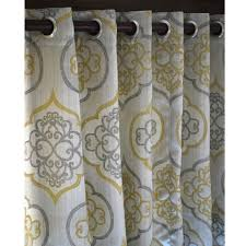Curtains Decoration Curtains Decoration Yellow And Gray Living Room Ideas Il