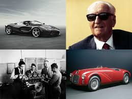 ferrari 125 s ferrari 70th anniversary celebrations get underway with a special