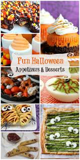 Fun Halloween Appetizer Recipes by Halloween Desserts And Appetizers U2014 Whatthegirlssay