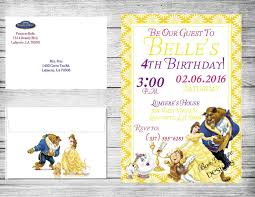 Baby Shower Invitations Ebay Beauty And The Beast Baby Shower Invitations U203a Bedroompict Info