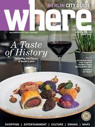 Where Magazine Berlin June 2018 by Morris Media Network issuu