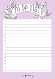 free printable purple to do list planners u0026 bullet journals