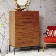 Buy Bedroom Dresser Nash 5 Drawer Dresser Teak West Elm