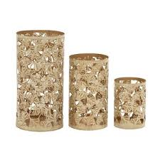 Vintage Bohemian Lead Crystal Candle Holder For Three Candles Candle Holders U0026 Stands Joss U0026 Main