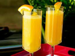 Southern Comfort And Pineapple Juice Pineapple Orange Mimosas Recipe The Neelys Food Network