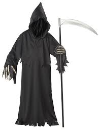 halloween costumes for 9 10 year olds amazon com california costumes toys grim reaper deluxe clothing