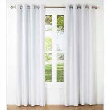 What Type Of Fabric For Curtains Cotton Eyelet Curtain